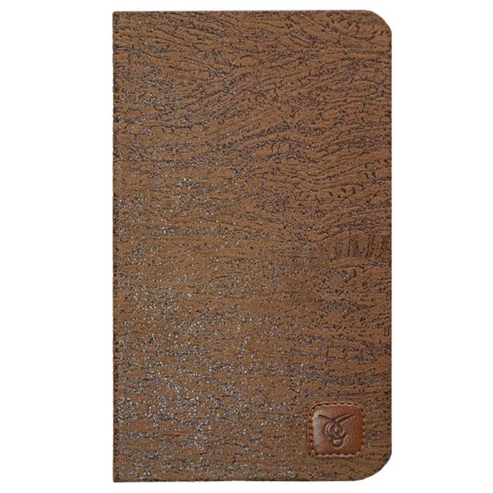 Vivacase Textile текстильный чехол-обложка для Nexus 7 (2013), Brown (VAS-ASN7(13)T06-br)VAS-ASN7(13)T06-brЧехол Viva Textile для Asus Nexus 7 (2013) изготовлен из ткани пастельного оттенка со стильным орнаментом и приятной на ощупь, бархатистой текстурой. Такой чехол легко сочетается с разными стилями, а в случае загрязнения очень просто отмывается обычной губкой. Тканью обтянут плотный, устойчивый к продавливанию каркас, который защитит корпус и дисплей устройства от продавливания, а также при падении. Внутри планшет Asus Nexus 7 (2013) устанавливается в магнитные Г-образные уголки, которые плотно фиксируют устройство. Они же играют роль «замка» - то есть удерживают обложку закрытой. Благодаря такому решению в обложке нет никаких элементов, которые бы дополнительно увеличивали ее толщину, поэтому эта обложка остается одной из самых тонких.