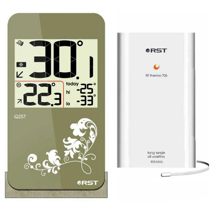 RST02257 цифровой термометр с радиодатчиком в стиле iPhone 42257RST02257 - это оригинальная модель термометра с беспроводным термодатчиком. Дизайн устройства выполнен в модном стиле iPhone с использованием кожаной текстуры. Термометр оснащен системой автоматического контроля за минимальной и максимальной температурой за текущие сутки.