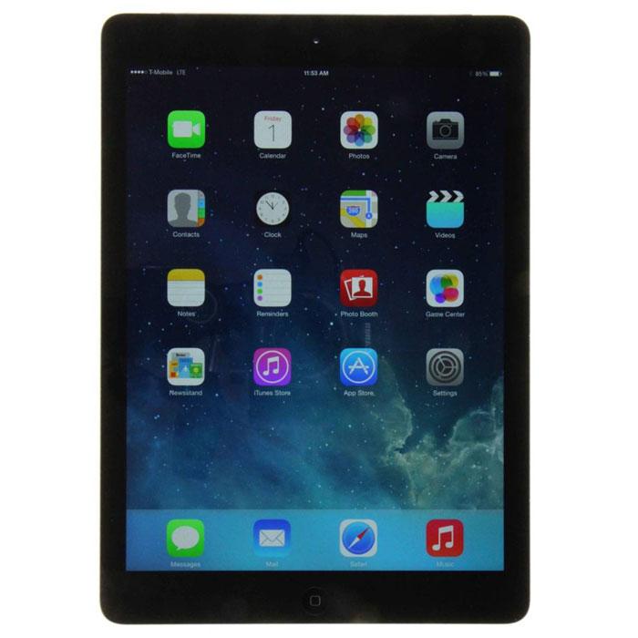 Apple iPad Air Wi-Fi + Cellular 16GB, Space GrayMD791RU/BПланшет Apple iPad Air – невероятно тонкий и легкий. При этом он по всем параметрам обходит своих предшественников. 64-битный процессор A7 и сопроцессор движений M7, передовые технологии беспроводной связи, сотни тысяч приложений на каждый день – iPad Air предлагает больше возможностей, чем можно себе представить. Совершенно новый дизайн: Стоит взять Apple iPad Air в руки, чтобы поверить в его реальность. Торжество технологий заключено в алюминиевый корпус 7,5-мм толщины весом всего 478 г. Apple iPad Air стал на 28% легче, на 20% тоньше и на 24% компактнее, но он гораздо мощнее и функциональнее своих предшественников и по-прежнему работает все те же невероятные 10 часов без подзарядки. Дисплей Retina: Ширина планшета и боковые кромки по краям дисплея были уменьшены. Но размер экрана не уменьшился ни на миллиметр. Экран всегда был главным в планшетах Apple, теперь же изображение еще сильнее притягивает взгляд. С разрешением 2048x1536...