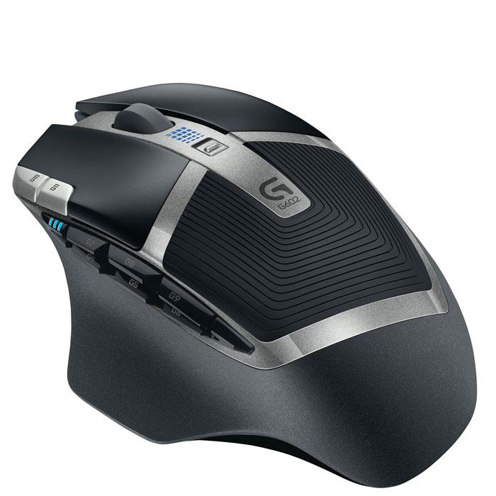 Logitech G602 (910-003821) мышь910-003821Игровая мышь Logitech G602. Ужесточение отраслевых стандартов: Мышь G602 меняет правила беспроводной игры благодаря сроку работы батареек до 250 часов. Эта мышь обеспечивает подлинно игровую производительность во всем, начиная от безукоризненной точности эксклюзивного датчика Delta Zero до высокопрочных основных переключателей и 11-ти программируемых элементов. Положитесь на G602 в схватках с боссами! У нее нет конкурентов: Играйте с уверенностью. Мышь G602 проведет вас от начала и до конца игры, ведь у нее в запасе заряда на 250 часов в производительном режиме. Это в восемь раз больше того, что предлагают обычные беспроводные модели, — с сохранением чувствительности датчика и качества связи игрового класса. G602 оснащается двумя стандартными батарейками AA, одну из которых можно убрать, чтобы скорректировать вес и баланс мыши. Почувствуйте вкус свободы: С этой мышью Вы забудете о задержках. G602 работает по беспроводной связи на частоте...
