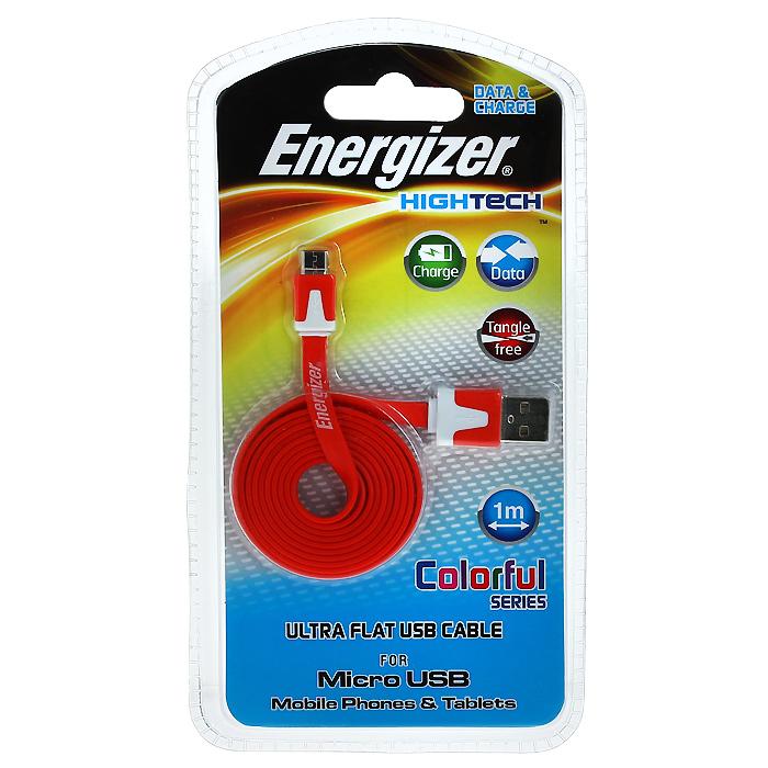 Energizer CMCRD2 кабель microUSB3492548140039Energizer CMC2 - кабель для синхронизации и передачи данных с Ваших устройств с разъёмом microUSB на ПК.