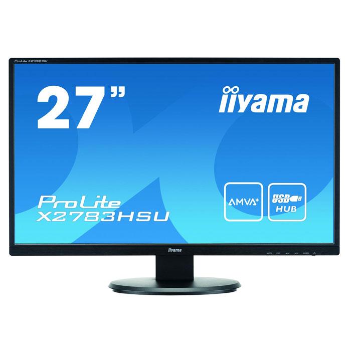 Iiyama ProLite X2783HSU-B1 27, Black мониторX2783HSU-B1Iiyama ProLite X2783HSU-B1 - это современный ЖК-монитор с матрицей типа MVA, диагональю экрана 27. Благодаря применению современных технологических решений, модель отличается широкими углами обзора и великолепной цветопередачей, включая идеальное качество отображения черного и белого. LED-Подсветка: Обычные ЖК-мониторы используют лампы CCFL для подсветки. Использование светодиодов (LED) позволяет существенно снизить энергопотребление и выбросы газов СО2 в атмосферу - монитор становится экологически безвредным. HDMI: HDMI расшифровывается, как High-Definition Multimedia Interface (Мультимедийный Интерфейс Высокой Четкости). Интерфейс обеспечивает значительные преимущества над DVI, при этом пересылает не только видео, но и аудио через единый компактный разъем. PIVOT: Возможность вращения экрана означает, что вы можете менять положение экрана: из стандартного альбомного в портретное. Это очень полезная опция, облегчающая работу с большими...