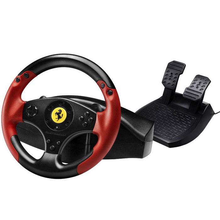 Thrustmaster Ferrari Red Legend руль для PC/PS3 (4060052)4060052В рулевой системе Thrustmaster Ferrari Racing Wheel Red Legend Edition реализован универсальный подход, который оценят многие геймеры. Цель компании — обеспечить поклонникам автогоночных игр для PS3 и ПК игровые ощущения благодаря мощной рулевой системе, передающей неподражаемый дух легендарных автомобилей. Система Ferrari Racing Wheel Red Legend Edition совместима со всеми доступными и будущими гоночными играми для PlayStation3 и ПК и предлагает беспрецедентную производительность. Она отличается универсальным эргономичным дизайном и исключительными показателями эффективности на любых трассах и в любых видах гонок. Непревзойденный комфорт для пользователя обеспечивают текстурированный прорезиненный хват Ferrari красного цвета и эргономичные лепестковые переключатели секвенционной коробки передач, удобно размещенные прямо на руле. Благодаря им пользователь может легко и быстро переключать передачи без ущерба для скорости и маневренности. Имеется возможность отрегулировать...