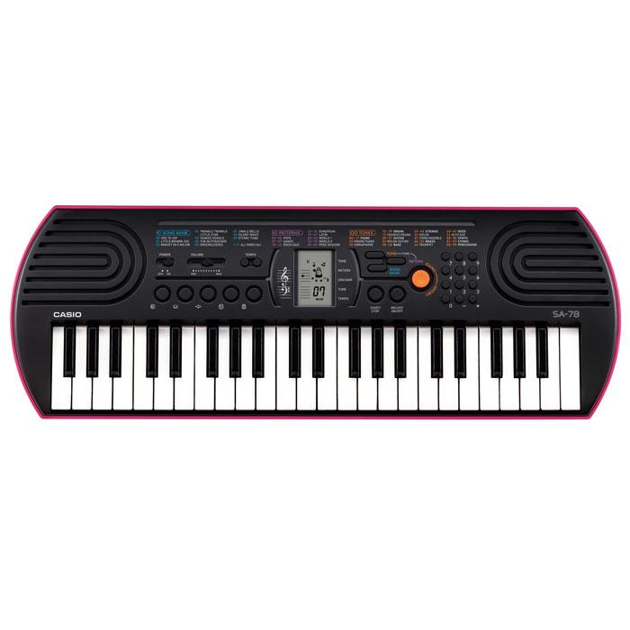 Casio SA-78 синтезатор