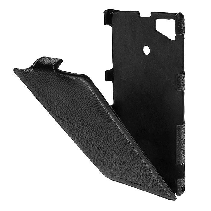 Melkco Jacka Type чехол для Sony Xperia Z1/i1, Black