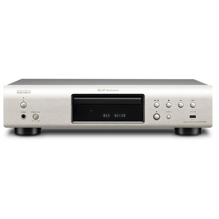 Denon DCD-720AE, Silver CD проигрыватель
