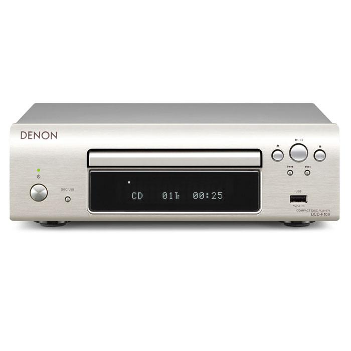 Denon DCD-F109, Silver CD проигрыватель