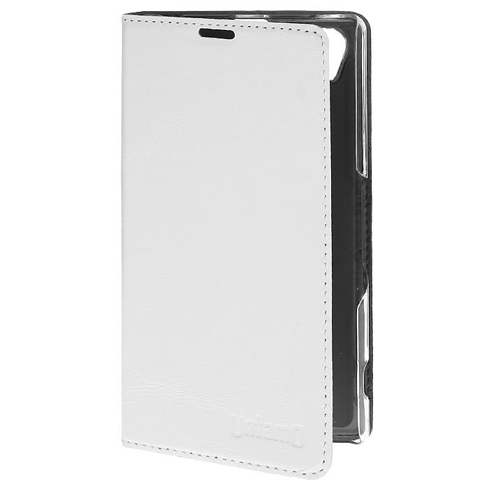 Untamo Timber чехол для Sony Xperia Z1, Ermin White (UTIMBSZ1EWH)