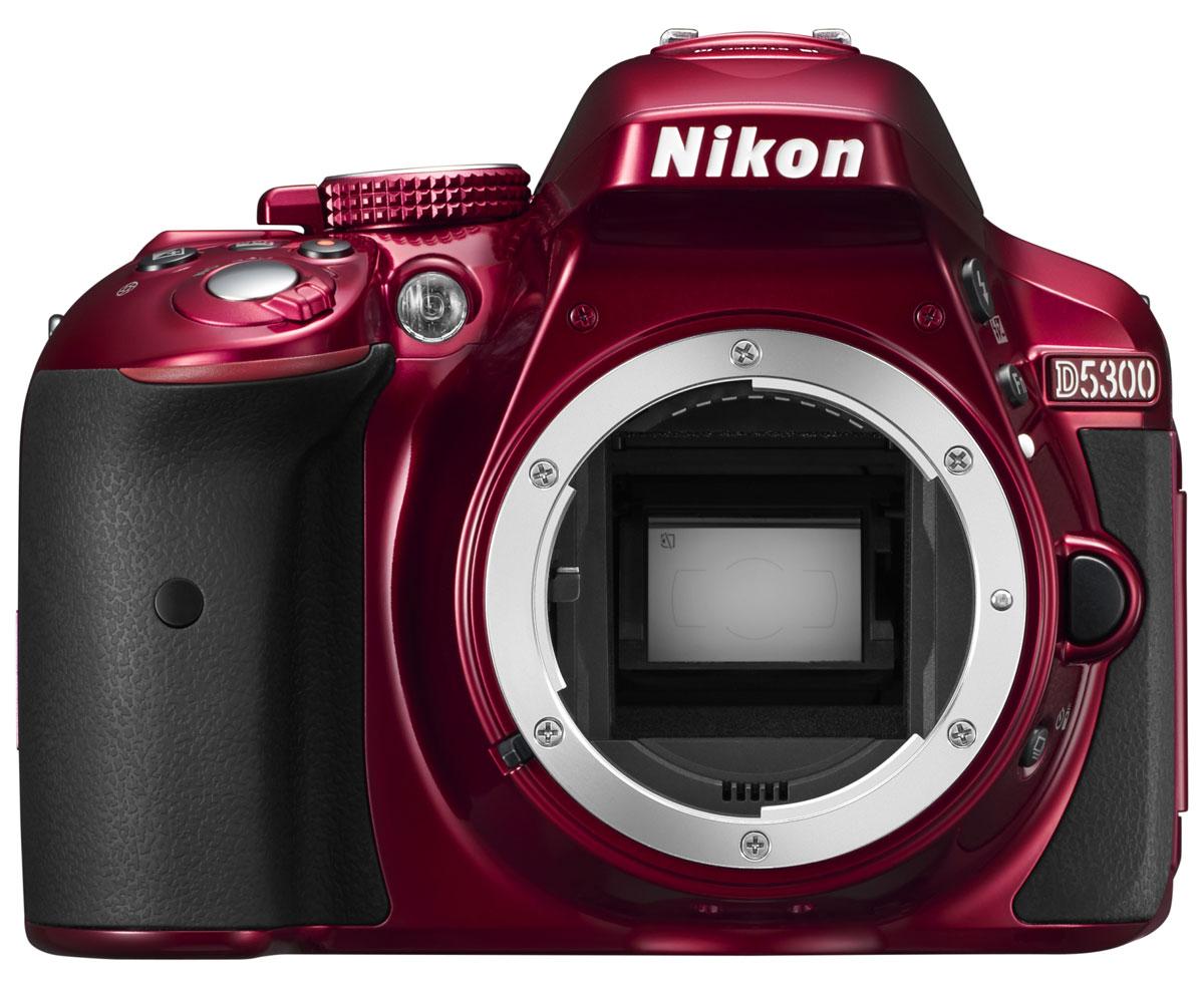 Nikon D5300 Body, Red цифровая зеркальная камера ( VBA371AE )