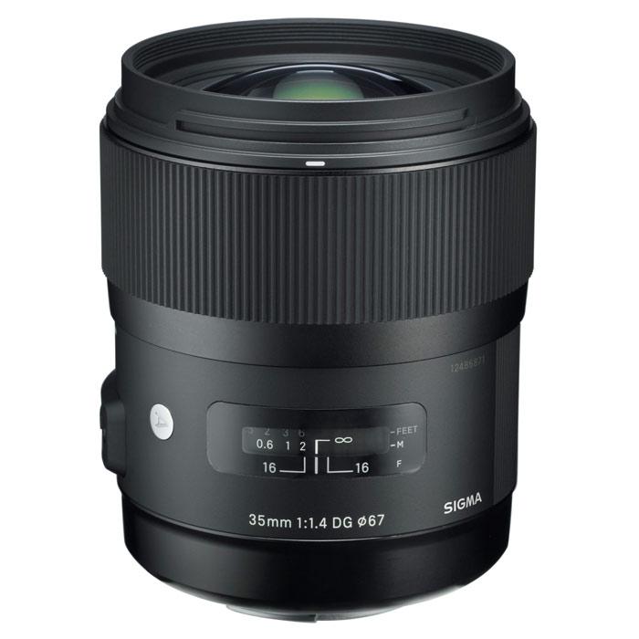 Sigma AF 35mm F/1.4 DG HSM, Canon объектив
