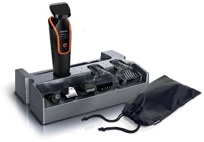 Philips QG3340/16 триммер для бороды и усовQG3340/16Триммер Philips QG 3340/16. Гребень для усов и бороды с 18 установками длины: Создайте бороду нужной длины. Полноразмерный триммер оснащен гребнем для усов и бороды с 18 установками длины с шагом 1 мм (от 1 до 18 мм). Гребень для щетины и контуров с 12 установками длины: Создайте стильную щетину или 3-дневную бородку при помощи съемного прецизионного гребня для щетины с установками длины от 1 до 12 мм. Сетчатая бритва для проработки деталей для чистого бритья: После подравнивания триммером завершите свой стиль при помощи сетчатой бритвы для проработки деталей, чтобы создать безукоризненный образ. Полноразмерный триммер: Полноразмерный триммер для линии шеи, бакенбард и подбородка. Триммер для носа: простое удаление волос: Простое и комфортное удаление волос в ушах и носу благодаря съемному поворотному триммеру. Полная водонепроницаемость для легкой очистки: Машинку легко мыть простым...