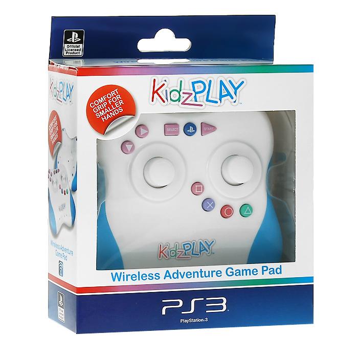 Sony Детский беспроводной контроллер Kidz Play Adventure для PS3 (голубой)