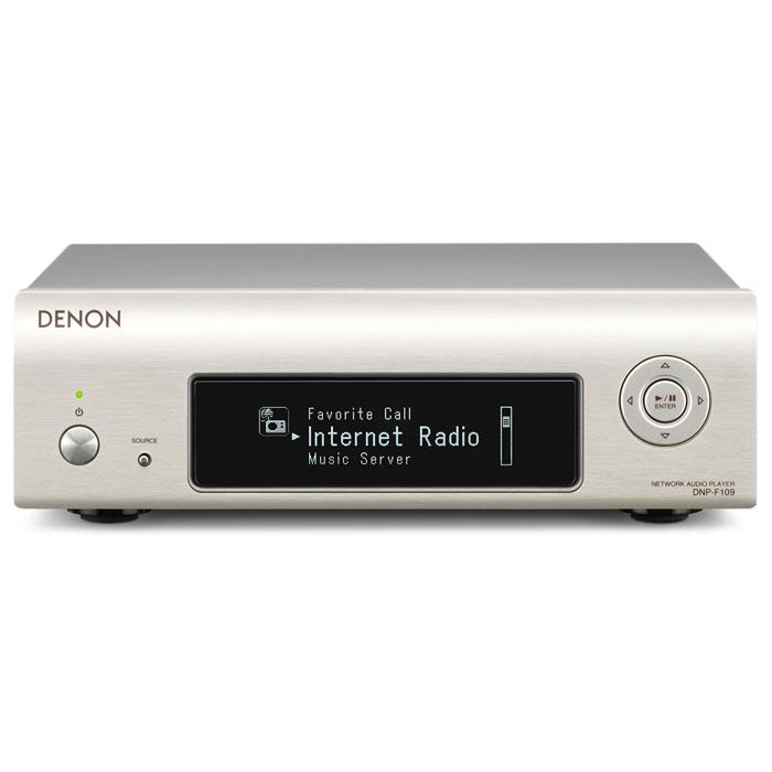 Denon DNP-F109, Silver cетевой аудио-проигрыватель