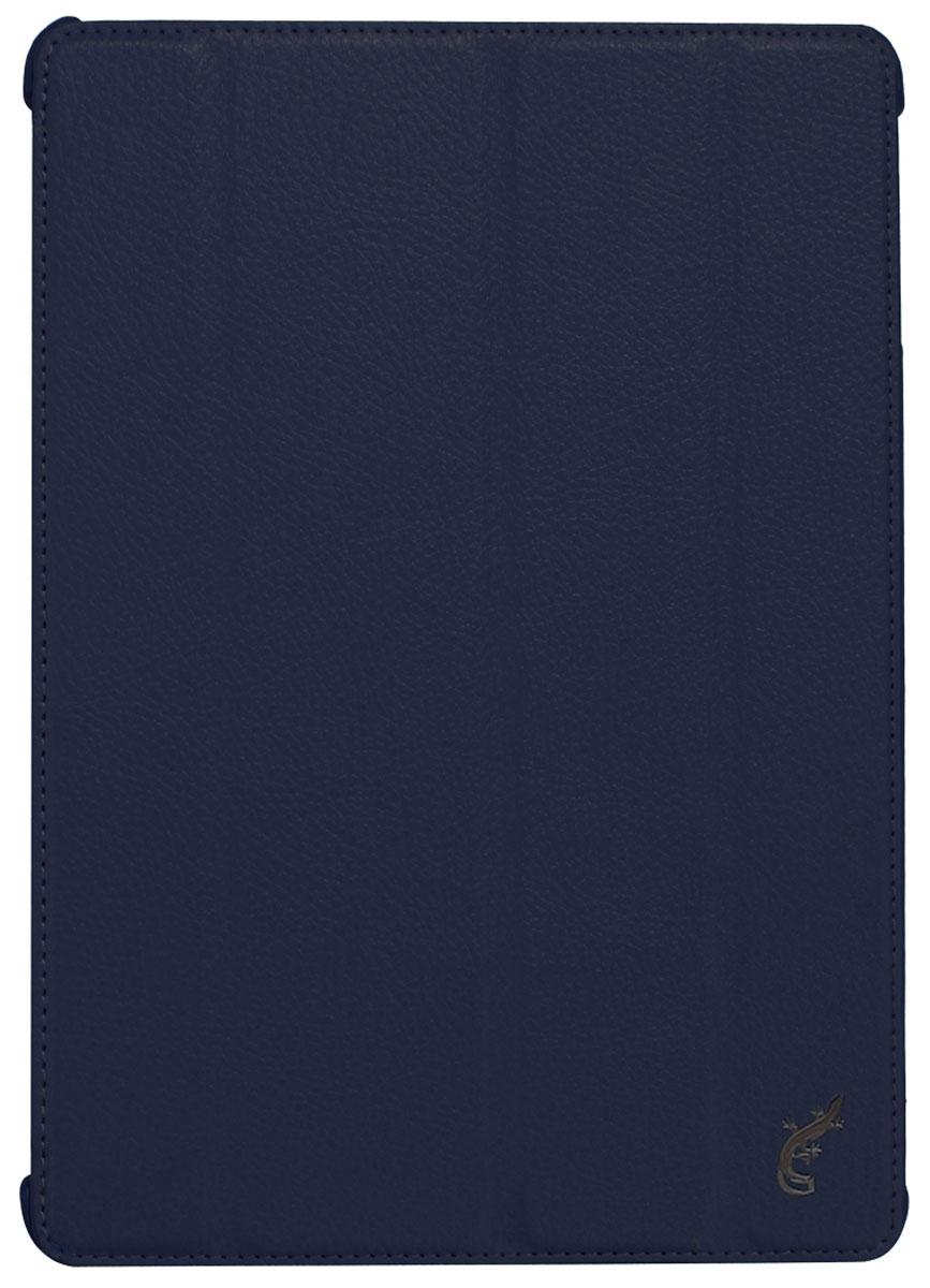 G-case Elegant чехол для iPad Air, Dark BlueGG-233G-Case Elegant - это качественный, функциональный и стильный кожаный чехол для iPad Air, который станет отличным решением для защиты Вашего планшетного компьютера от пыли, ударов и царапин. При этом он не затрудняет доступ к iPad и обеспечивает высокий высокий уровень удобства при его использовании. Сам чехол изготовлен из высококачественной кожи как снаружи, так и внутри чехла, благодаря чему iPad Air останется в первозданном виде. В открытом виде Вам будут доступны все функциональные клавиши и разъемы iPad Air. В закрытом виде чехол G-Case Elegant не помешает заряжать iPad Air, фотографировать или слушать музыку. В G-Case Elegant устройство не становится толще или тяжелее, поэтому легко поместится в сумку. Такой чехол надежно защитит Ваш iPad Air во время эксплуатации и транспортировки. Впрочем, все эти качества наверняка оценят те, кто предпочитают комфортные и качественные вещи.