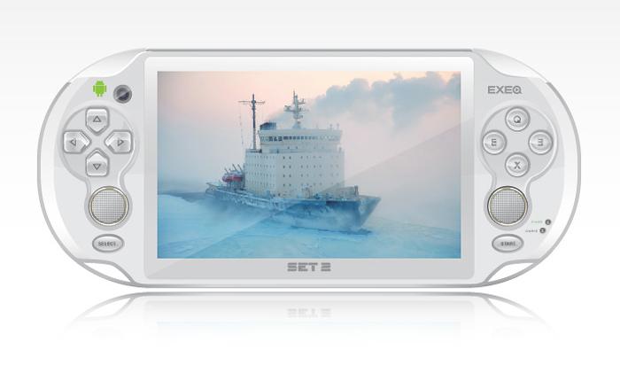 Портативная игровая консоль EXEQ SET 2 (белая)