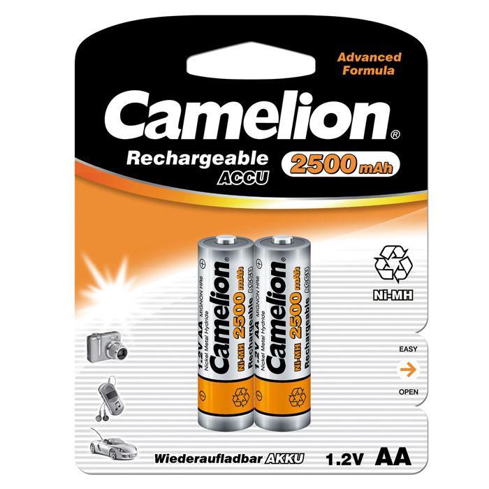 Camelion AA-2500mAh Ni-Mh BL-2 (NH-AA2500BP2) �����������, 1.2� (2 ��)