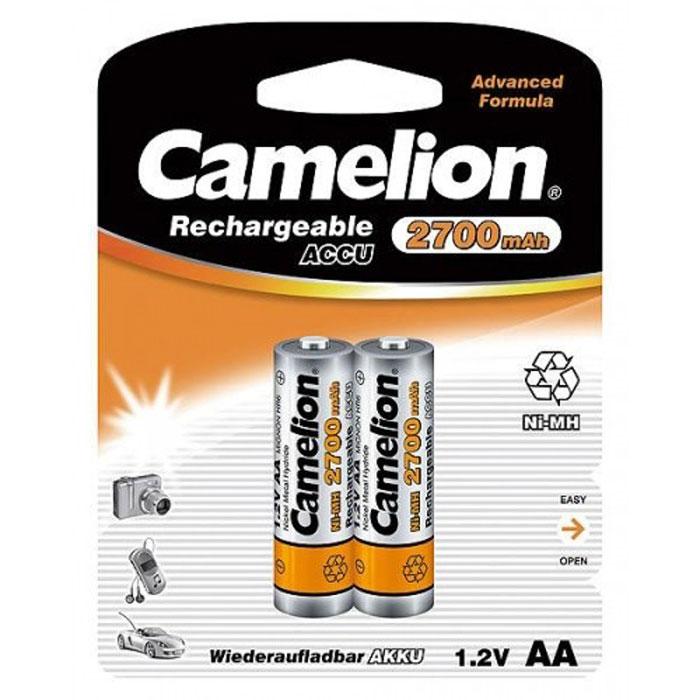 Camelion AA-2700mAh Ni-Mh BL-2 (NH-AA2700BP2) 2 ������������, 1.2�