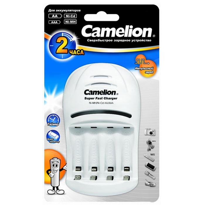 Camelion BC-1007 ЗУ для 1-4AAA/AA, 1000мА, 1 шт9255Быстрое зарядное устройство Camelion BC-1007 для аккумуляторов типа АА и ААА.