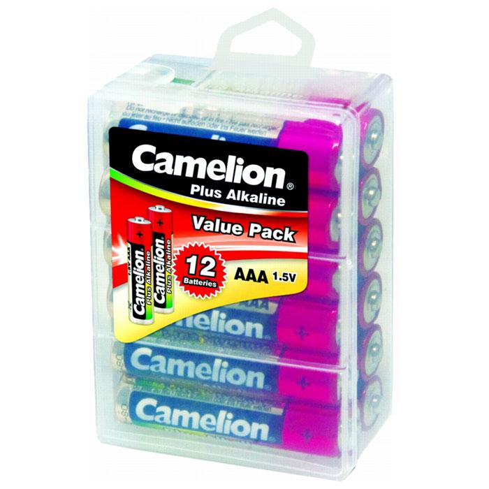 Camelion LR03-PBH12 Plus, 12 батареек,1.5В