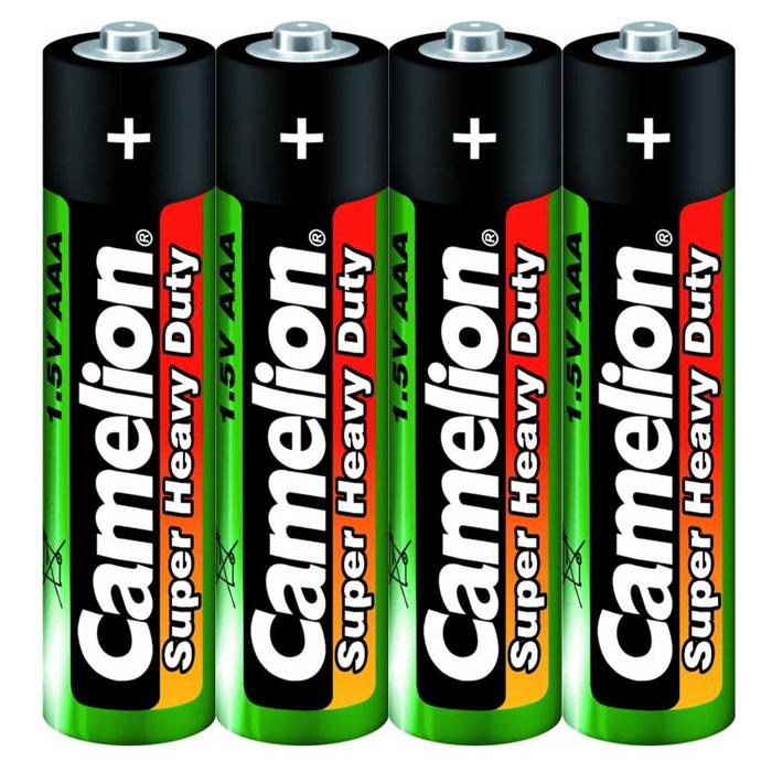 Camelion R03 SR-4 (R03P-SP4G) батарейки 1.5В, 4 шт1659Солевые батареи Camelion R03 SR-4 подойдут для питания электроприборов с низким потреблением энергии.