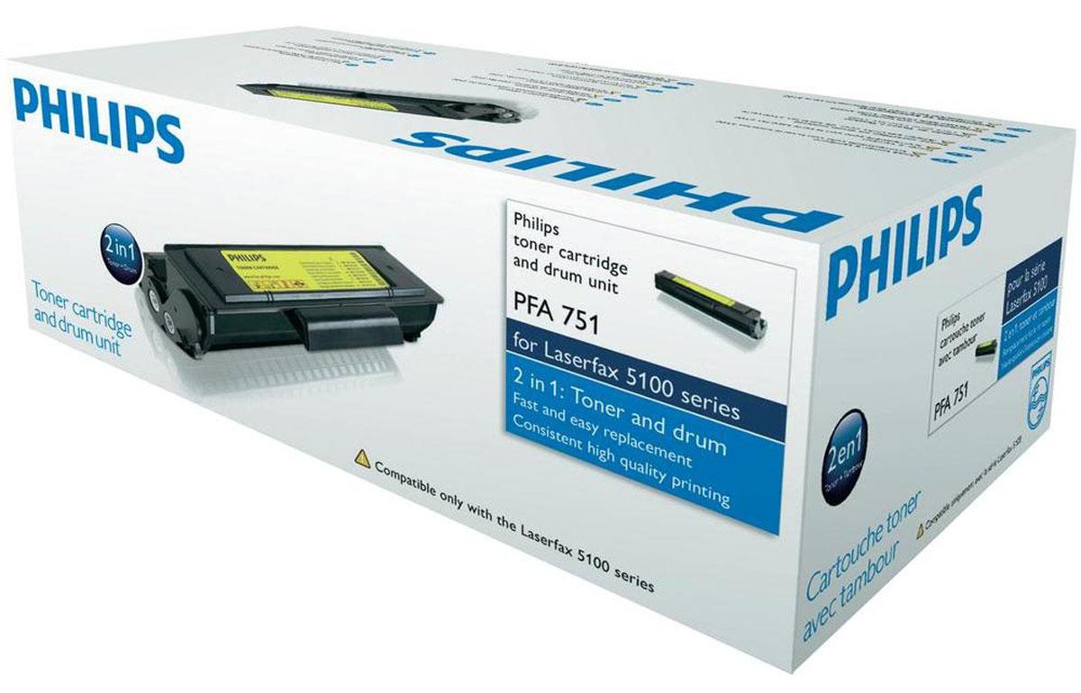 Philips PFA 751 картридж для лазерных факсов3425160271065Картридж лазерный PFA-751 для факсов Philips серии 5100.