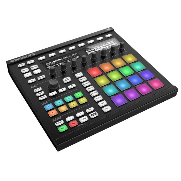 Native Instruments Maschine Mk2, White MIDI-контроллерMCI49407Программно-аппаратная система Native Instruments Maschine Mk2, состоящая из USB/MIDI контроллера Maschine и ПО Groove Production Studio, которое включает в себя секвенсор, семплер и свыше 20 высоко-качественных эффектов. Обновлённая версия знаменитой интегрированной продакшн-системы Maschine от Native Instruments теперь поставляется в двух цветах - чёрном или белом, имеет 16 чувствительных к силе нажатия пэдов с функцией послекасания и кодирования каждого отдельного пэда подсветкой разных цветов, усовершенствованный дизайн, новые высококонтрастные дисплеи с увеличенными углами обзора. Также добавлены новые функции управления и эффекты, а в комплекте с Maschine Mk2 поставляется полная версия мощнейшего синтезатора Massive.