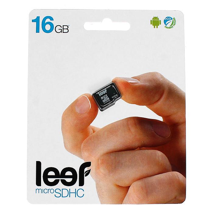 Leef microSDHC 16GB, Class 10 без адаптераLFMSD-01610RКомпактная и универсальная карта памяти Leef microSDHC позволяет надежно хранить фотографии, музыку, фильмы и любую другую информацию. Она выпускается в вариантах с различной емкостью и идеально подходит для планшетных ПК и смартфонов. Вся продукция Leef водонепроницаемая, ударопрочная, имеет пылезащищенный корпус и устойчива к работе в экстремальных температурных условиях.