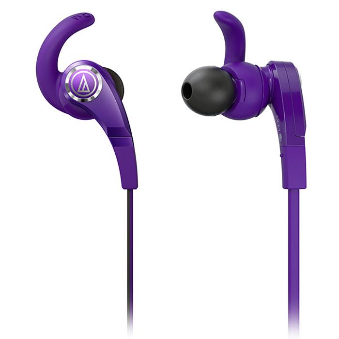 Audio-Technica ATH-CKX7, Purple наушники15116833Audio-Technica ATH-CKX7 – универсальные вставные наушники с дополнительным креплением внутри уха, обеспечивающим надёжную посадку. Модель характеризуется отличным звучанием на всём широком частотном диапазоне от 10 герц! CKX7 имеют богатую комплектацию - чехол для переноски и набор сменных амбушюр.