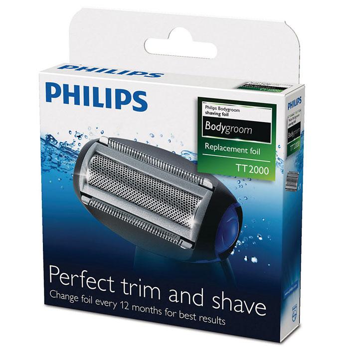 Philips TT2000/43 бритвенная головка для триммеров серий TT2021–TT2030TT2000/43Сменная бритвенная головка с сеткой TT2000/43 для триммера для тела Philips серий TT2021-TT2030. Использование на влажной и сухой коже для применения в душе и легкой очистки: 100% водонепроницаемость этой бритвы Philips позволяет с удобством сбривать и подравнивать волосы в душе, а также гарантирует простоту очистки. Безопасна и не вызывает раздражения, очень удобна для сбривания волосков на теле.