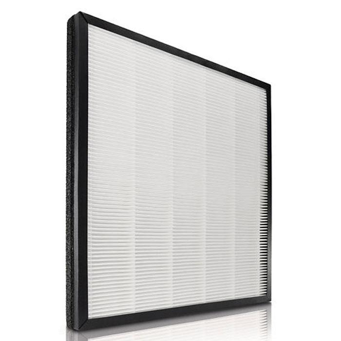 Philips AC4124/02 сменный HEPA-фильтр для AC4004, 1 штAC4124/02Высококлассный HEPA-фильтр Philips AC4124/02HEPA эффективно удаляет бактерии, невидимые глазу частицы (больше 20 нанометров) и некоторые вирусы. Антибактериальное покрытие исключает появление микробов и плесени. Функция оповещения системы контроля качества воздуха своевременно предупреждает Вас о необходимости замены фильтра. В случае если замена заполненного фильтра не произведена вовремя, устройство перестанет работать. Благодаря функции блокировки системы контроля качества воздуха вы всегда будете дышать чистым воздухом.