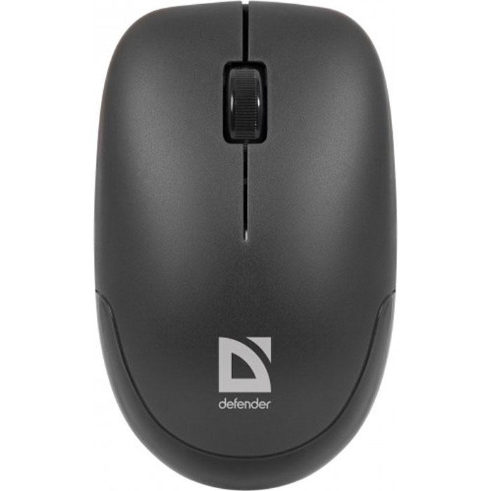 Defender Datum MM-015 Nano, Black беспроводная мышь