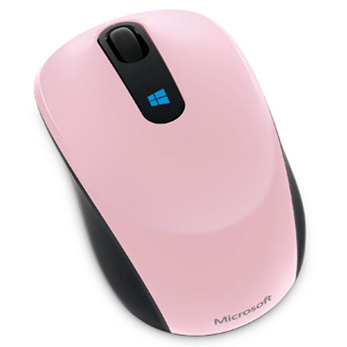 Microsoft Sculpt Mobile Mouse, Pink беспроводная мышь43U-00020Беспроводная компактная мышь Microsoft Sculpt Mobile Mouse. Кнопка Windows на Sculpt Mobile Mouse — это новая впечатляющая функциональная возможность, отлично работающая с Windows 8. Нажмите эмблему Windows, чтобы сразу же перейти к начальному экрану и всем закрепленным на нем важным приложениям. От редактирования презентаций до общения с друзьями по сети — Sculpt Mobile Mouse во всем проявит себя удобным и надежным соратником в условиях современной мобильной жизни. Ее компактный дизайн и технология BlueTrack Technology, обеспечивающая работу практически на любой поверхности, делают из нее идеальное устройство для работы в офисе и вне его. Благодаря этой беспроводной мыши, подключающейся по mini-USB, на вашем столе (или кофейном столике) появится больше места и комфорта. Классическая форма Sculpt Mobile Mouse в сочетании с четырехмерным колесом прокрутки обеспечивают интуитивность в использовании и удобно лежит в любой из рук. Наклоны колеса влево и...