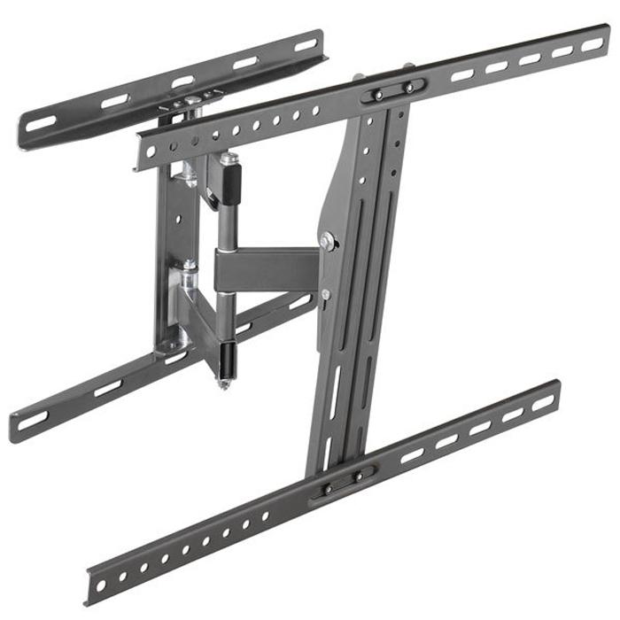 Vivanco WM 5545 кронштейн для устройств 40-5534891Vivanco WM 5545 - кронштейн для крепления на стену телевизоров с диагональю 40-55 дюймов. Он способен выдержать нагрузку весом до 45 кг. Практически не заметен, благодаря близкому размещению у стены.