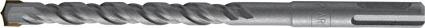 Бур по бетону FIT Профи с двойной резьбой, 16 х 600 мм32978Бур FIT Профи используется профессионалами для перфораторов с системой крепления SDS-plus. Изготовлен из инструментальной стали с твердосплавной вставкой. Бур предназначен для работы по бетону, камню и кирпичу.