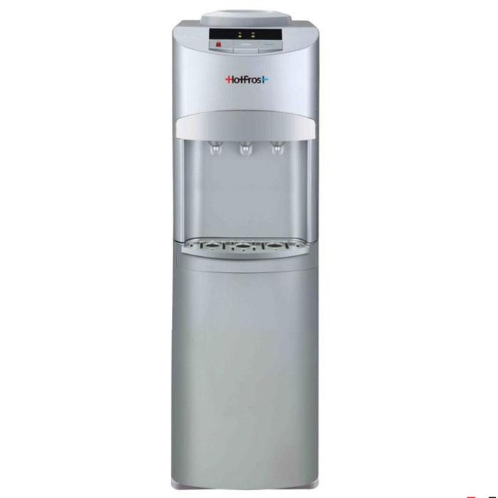 HotFrost V127 S кулер для воды1008Аппарат для охлаждения и нагрева воды HotFrost V 127 S. Используемое в диспенсере компрессорное охлаждение позволяет охлаждать воду ниже температуры +10°С даже при эксплуатации кулера в некондиционируемом помещении.