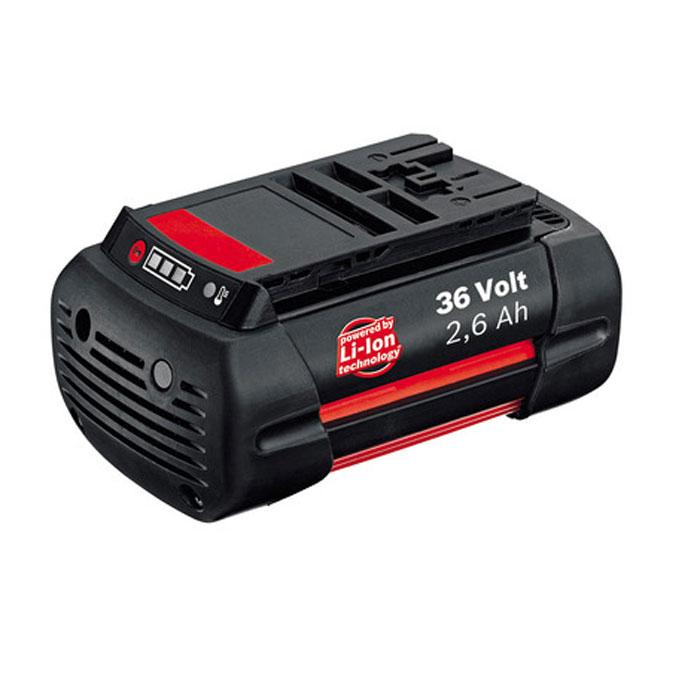 Аккумулятор для газонокосилок Bosch 36В, 2,6 Ач F016800301F016800301Аккумулятор Bosch F016800301 подходит для газонокосилок Bosch ROTAK 43 Li, Rotak 34 LI, Rotak 43 LI, ROTAK 34 LI. Для удобства эксплуатации инструмента предпочтительно иметь запасной аккумулятор для возможности работы во время зарядки первого аккумулятора, исключая время простоев.