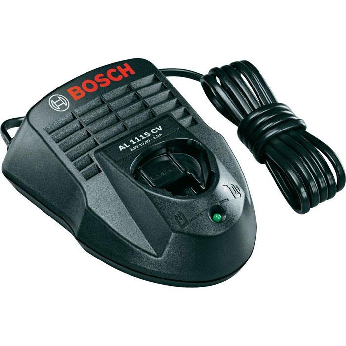 Зарядное устройство для Li-Ion аккумуляторов Bosch AL 1115 CV 1600Z0003P1600Z0003PЗарядное устройство AL 1115 CV Bosch 1600Z0003P предназначено для аккумуляторного инструмента линейки Bosch Power4All. Данное мощное 1-часовое зарядное устройство используется с литий-ионными аккумуляторами с напряжением 10,8 В. Широко применяется в бытовых и садовых инструментах.