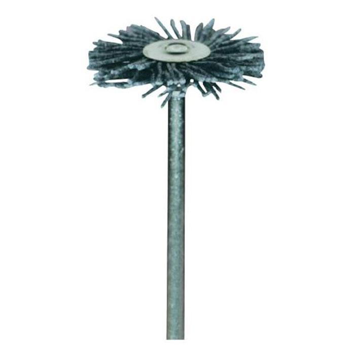 Щетка Dremel 538 (26150538JA)26150538JAАбразивная щетка Dremel 538 обеспечивает высокую производительность при удалении заусенцев, очистке, удалении ржавчины и следов коррозии. Может работать на более высоких скоростях, чем другие щетки. Диаметр хвостовика: 3,2 мм. Рабочий диаметр: 26,0 мм. Максимальная скорость: 20.000 об./мин.