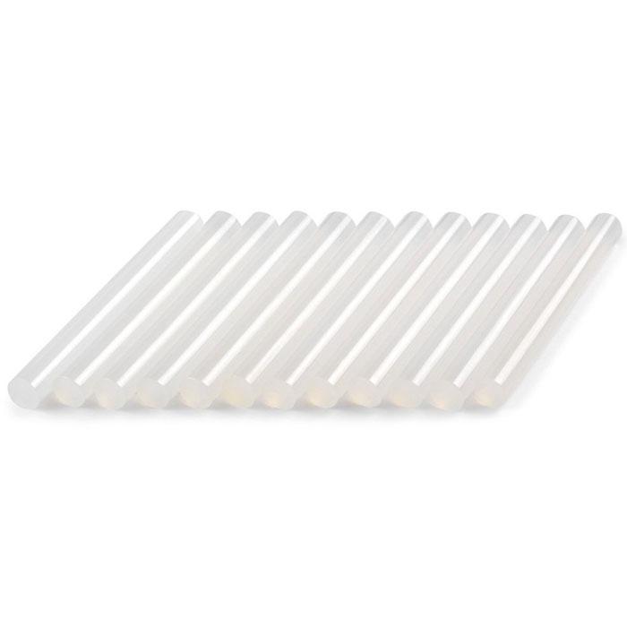 Стержни клеевые Dremel GG11, диаметр 11 мм, 12 шт. 2615GG11JA2615GG11JAСтержни Dremel GG11 предназначены для склеивания множества материалов, таких как дерево, пластмасса, керамика, картон, текстиль и так далее. В наборе 12 стержней. Подходят для использования с клеевым пистолетом Dremel 940 (195°C). Длина: 100 мм. Диаметр: 11 мм. Рабочая температура: 165-195°C. Количество: 12 шт.