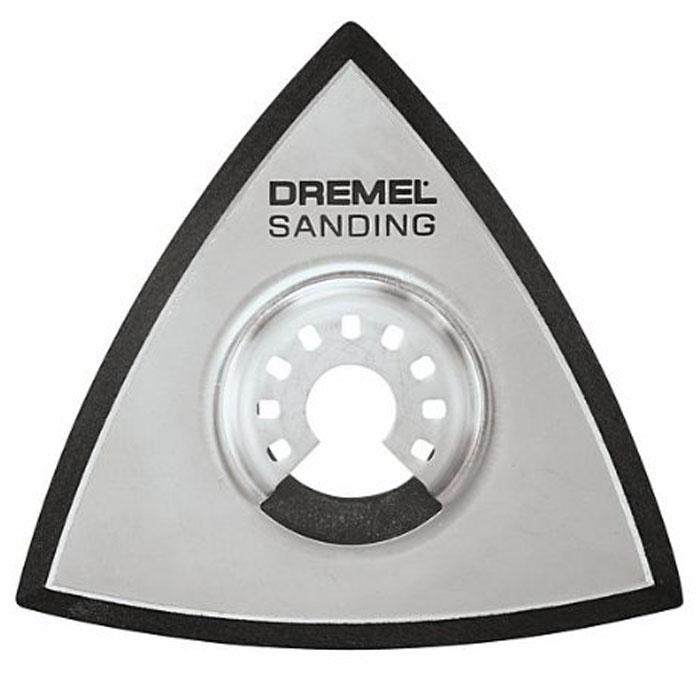 Шлифовальная подошва Quick fit для MultiMax Dremel MM14 (2615M014JA)2615M014JAПластина с креплением «липучка» Dremel MM14 позволяет закреплять на многофункциональном инструменте Multi-Max обычные и алмазные шлифовальные листы. Диаметр хвостовика: 3,2 мм Рабочий диаметр: 4,8 мм Максимальная скорость: 25 000 об/мин