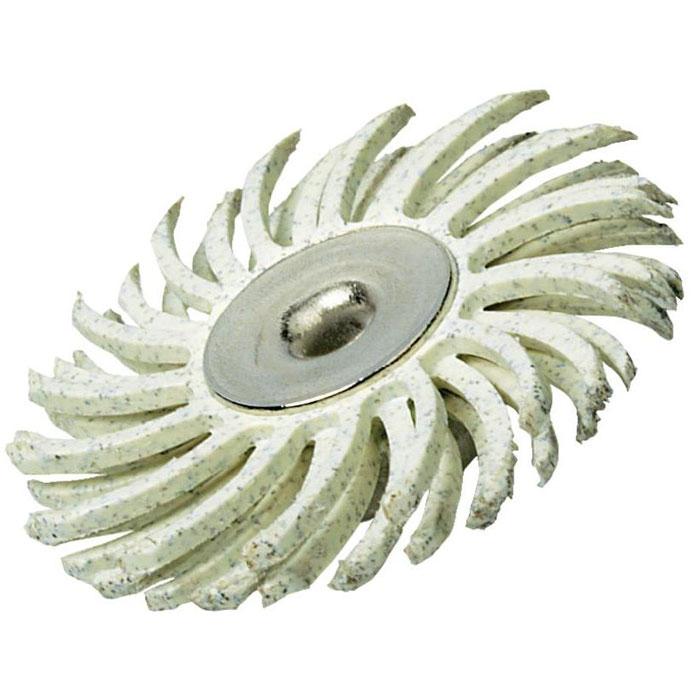 Щетка шлифовальная Dremel SC472S, зерно 120 (2615S472JA)2615S472JAКачественная абразивная щетка Dremel SC472S имеет очень гибкую щетину, позволяющую снимать слой материала с поверхности, не повреждая основной слой. Она может использоваться для удаления заусенцев, чистки, окончательной отделки, полировки тонких небольших деталей и труднодоступных мест. Диаметр хвостовика: 3,2 мм. Рабочий диаметр: 25,0 мм. Абразивный: 120. Максимальная скорость: 15.000 об./мин.