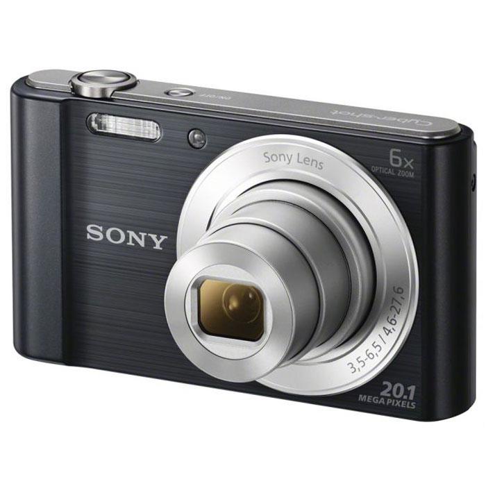 Sony Cyber-shot DSC-W810, Black цифровой фотоаппаратDSCW810B.RU3Компактная камера Sony Cyber-shot DSC-W810 с 6-кратным оптическим зумом. Камера W810 оснащена множеством функций для удобства съемки четких фотографий и видеороликов в разрешении HD. Делайте четкие снимки крупным планом с помощью 6-кратного оптического зума. В режиме вечеринки вы сможете с удобством делать прекрасные фотографии во время вечеринок. Без труда делайте красивые снимки в любых условиях. Матрица 20,1 Мпикс с высоким разрешением и встроенный автофокус обеспечивают четкие, детализированные кадры даже при быстром движении. Если объект съемки находится далеко, станьте к нему ближе с помощью 6-кратного оптического зума, который позволяет запечатлеть четкие снимки. Режим вечеринки отлично подходит для съемки на ночной вечеринке. Он сочетает улучшенную вспышку с оптимизированными настройками ISO, экспозиции и яркости цвета для ярких и четких снимков с вечеринки, длящейся всю ночь напролет. Кнопка Movie позволяет снимать видео в формате 720p HD и мгновенно...