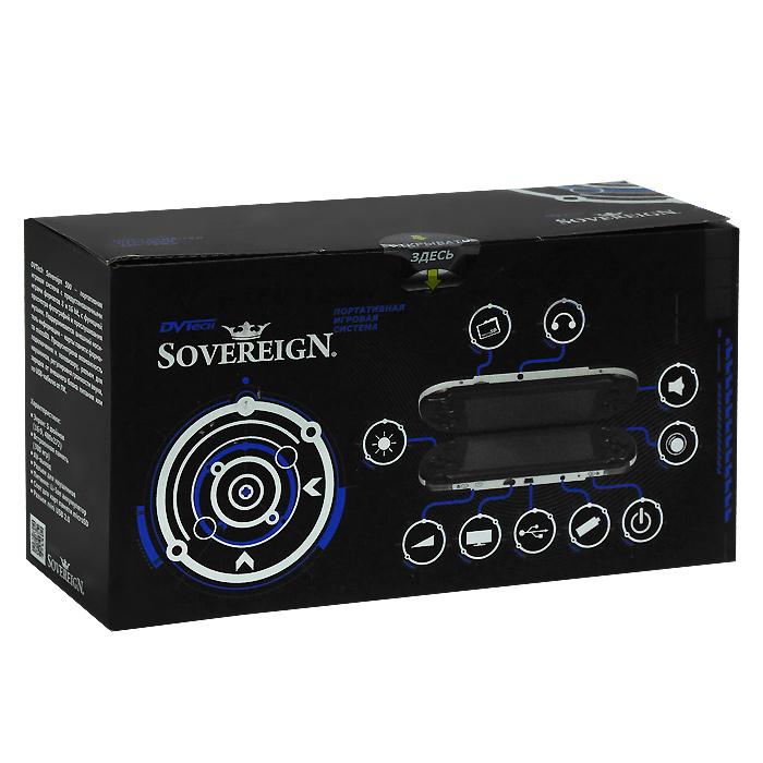 Портативная игровая приставка DVTech Sovereign 500 (цвет: черно-серебристый)