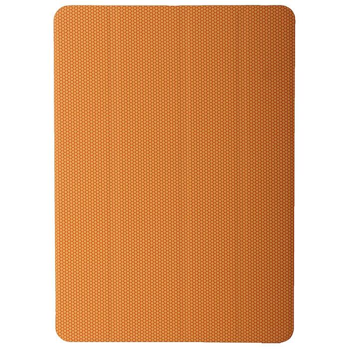 Tutti Frutti Smart Rubber чехол для iPad Air, OrangeTF181612Чехол Tutti Frutti Smart Rubber для iPad Air обеспечивает надежную защиту вашему планшетному компьютеру от механических повреждений и царапин. Все необходимые разъемы и кнопки планшета остаются в свободном доступе. Гибкая крышка, состоящая из 4 сегментов, превращает чехол в удобную подставку для устройства, которая обеспечивает пользователю комфорт во время чтения с экрана или просмотра фильмов. Чехол автоматически вводит iPad Air в режим сна и выводит из него при открытии и закрытии.