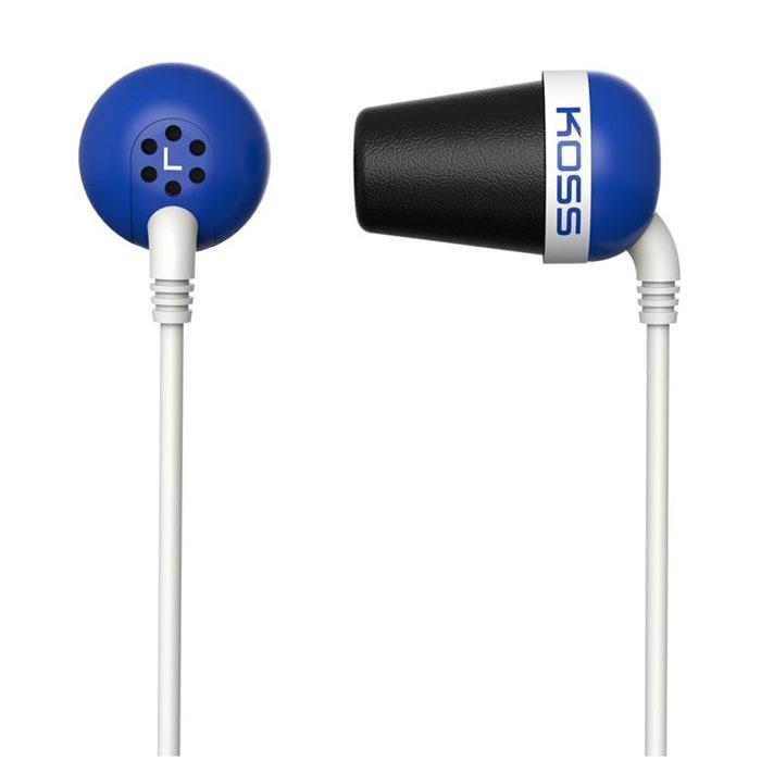 Koss The Plug, Blue ��������15116951������ Koss The Plug � ����������� �������� ��������, ������ � ����� ����. ��� ������������ ������������� ������ ��������������� �����, �������� ���� ��� � 10 �� (!) � ����������� ������������, ������� ����� ����� ������ � �������������� �������� ���������. Koss The Plug � ���������� � ������ �������, ���������� � �������. ��� �������� �������� ��� ������������ �����, �������� ��� ������������� ������ �� ����� � � �����.