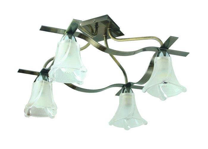 Потолочный светильник ST Luce SL308 302 04SL308 302 04Люстра SL308.302.04 - выполнена в классическом стиле. Для изготовления этой модели были использованы высококачественные материалы, такие как металл и стекло. Световой поток, направленный вниз, не создает теней и дает хорошее яркое освещение вашей комнаты.