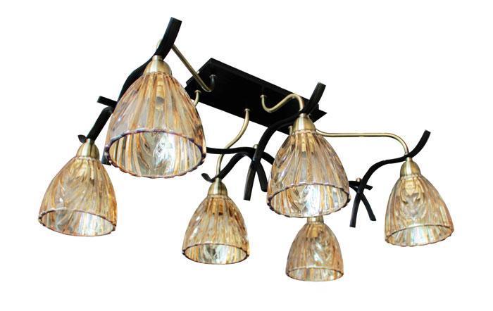 Потолочный светильник ST Luce SL315 302 06SL315 302 0Люстра SL315.302.06 - выполнена в классическом стиле. Для изготовления этой модели были использованы высококачественные материалы, такие как металл и стекло. Световой поток, направленный вниз, не создает теней и дает хорошее яркое освещение вашей комнаты.