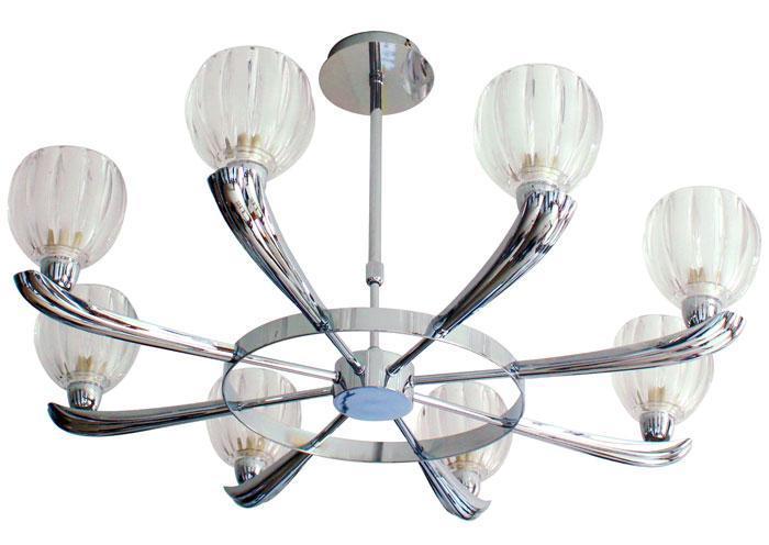Потолочный светильник ST Luce SL318 102 08SL318 102 08Люстра SL318.102.08 - выполнена в классическом стиле. Для изготовления этой модели были использованы высококачественные материалы, такие как металл и стекло. Световой поток, направленный вниз, не создает теней и дает хорошее яркое освещение вашей комнаты.