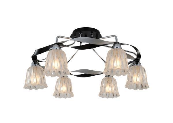 Потолочный светильник ST Luce SL324 752 06SL324 752 06Жизнь современного человека не представляется возможной без света, а роскошную, элегантную комнату обязательно должны украшать модные и стильные светильники. При помощи различных источников света можно выразительно и ярко подчеркнуть выигрышные элементы дизайнерского оформления комнаты или же, наоборот, затемнить и скрыть какие-либо детали. Кроме того, точечные светильники создадут особую атмосферу и настроение в интерьере.