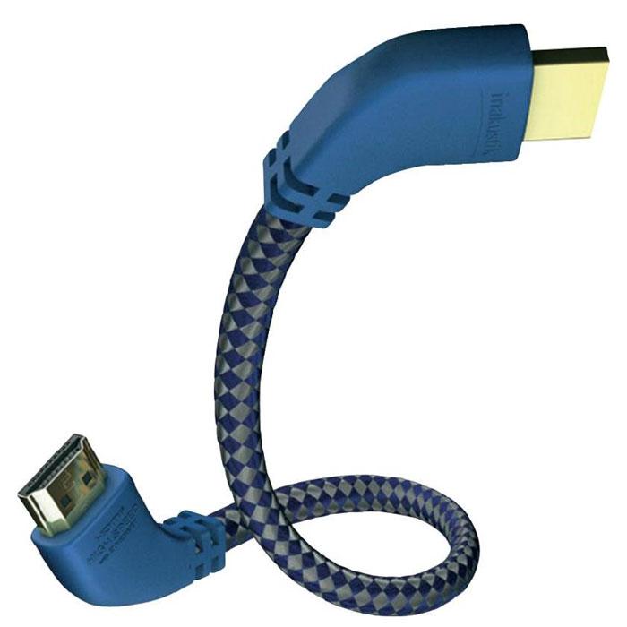 Inakustik Premium 90° кабель HDMI, 1 м (0042501)4001985508198Inakustik Premium 90° - это высокоскоростной HDMI кабель c Ethernet-каналом, который позволяет подключать аудио/видео ресиверы и другие устройства к интернету без дополнительного сетевого кабеля. Благодаря разъемам, которые изогнуты на 90 градусов, вы сможете легко подсоединить любую аппаратуру. Технология Audio Return Channel (реверсивный звуковой канал) позволяет телевизору через единственный HDMI кабель передавать аудио данные на аудио/видео ресивер, предоставляя пользователю дополнительную гибкость и избавляя его от необходимости использовать дополнительные аудиоподключения. Жилы кабеля имеют тройное экранирование, а позолоченные разъемы обеспечивают передачу данных без помех. Кабель доступен с различными вариантами длины: от 0.75 до 10 метров. Скорость передачи данных: 10.2 Гбит/с Сеть Ethernet: до 100 Мбит/с Версия HDMI: High Speed HDMI Cable with Ethernet (совместимость с HDMI 2.0) Разъемы: цельнометаллические 19 pin, тип А, позолоченные ...